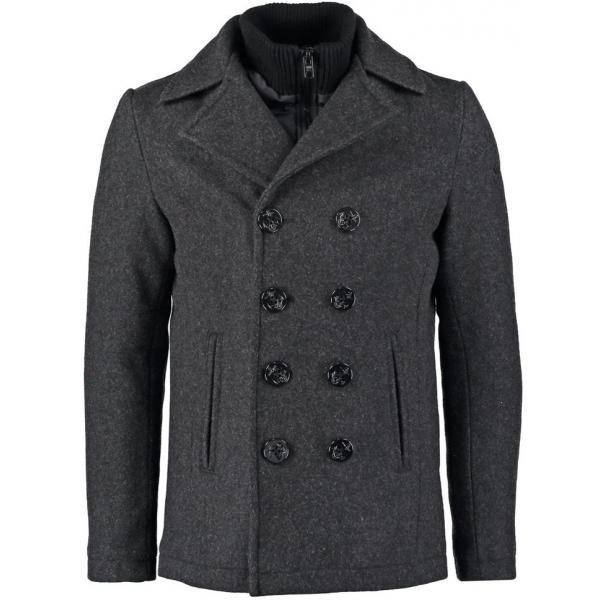 Schott NYC Płaszcz wełniany /Płaszcz klasyczny anthracite SC922D00G-Q11
