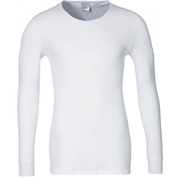 Schiesser ORIGINAL CLASSICS WINTERRIPPE Bluzka z długim rękawem white S5922K00K-002