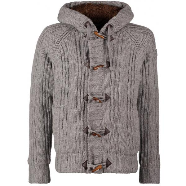 Schott NYC KEYSTONE Kardigan heather grey S3722I000-C11