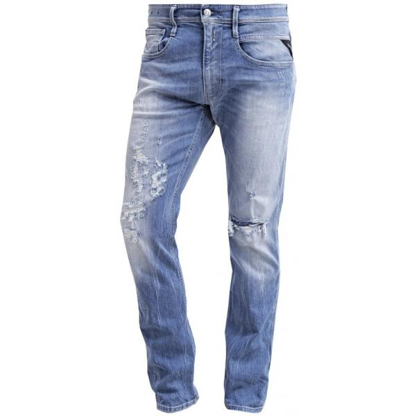 Replay ANBASS Jeansy Slim fit light blue RE322G03D-K11