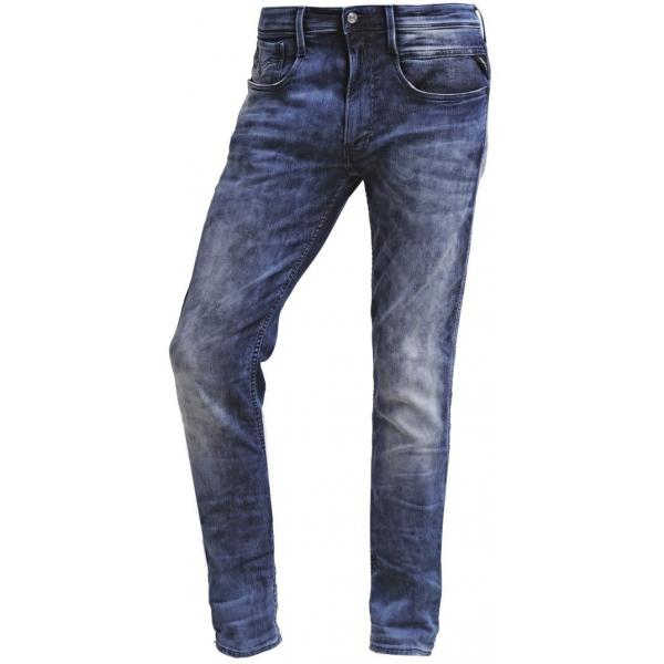 Replay ANBASS Jeansy Slim fit blue RE322G02Y-K11