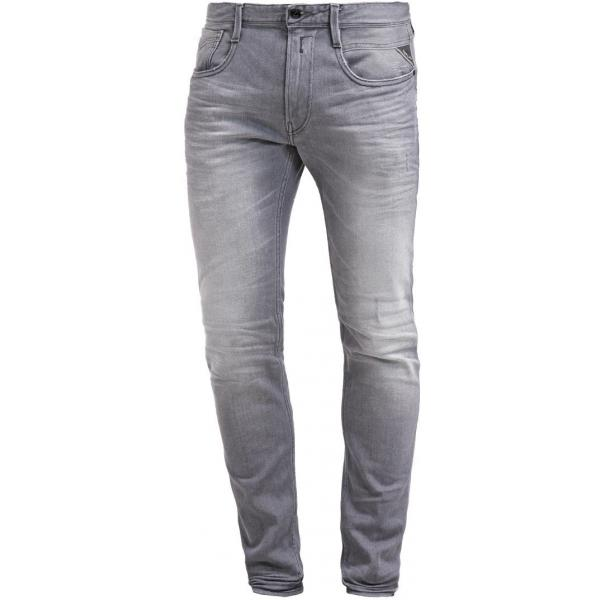 Replay ANBASS Jeansy Slim fit grey denim RE322G02M-C11