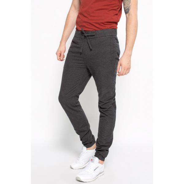 Review Spodnie Jog Wool Anthra 4950-SPM029