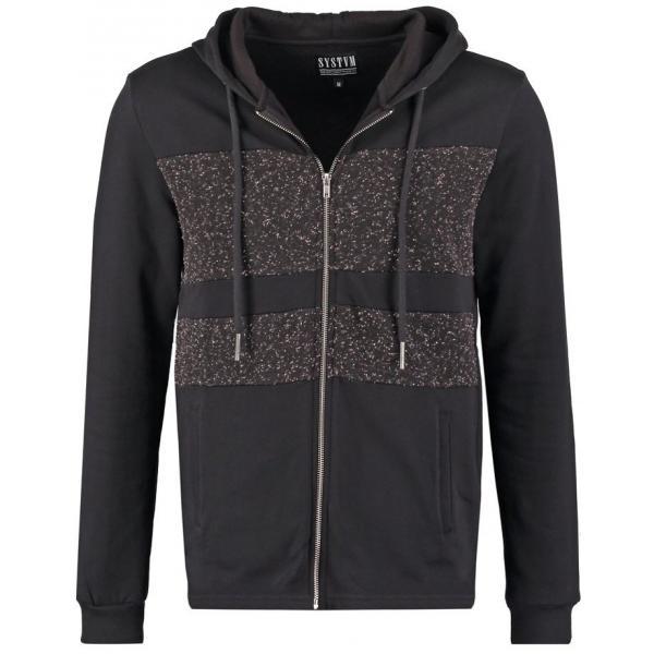 SYSTVM COHORT Bluza rozpinana black YS122S00A-Q11
