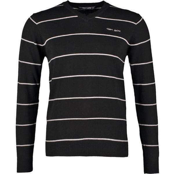 Teddy Smith PATBURRY Sweter black TS122I001-Q13