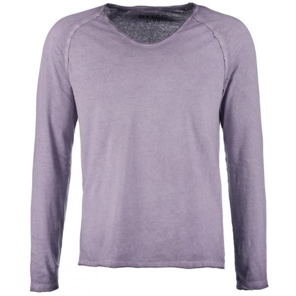 Tom Tailor Denim BASIC FIT Bluzka z długim rękawem grape purple TO722O07A-I11
