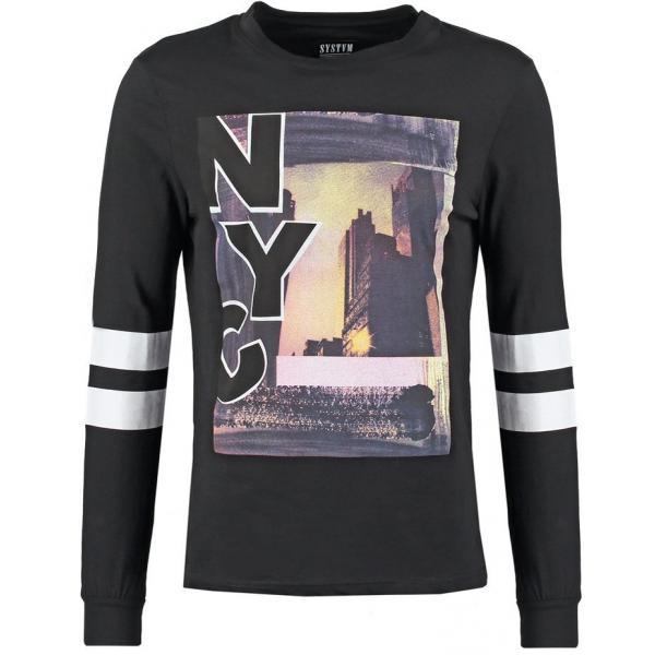 SYSTVM SCAIP Bluzka z długim rękawem black YS122O00U-Q11