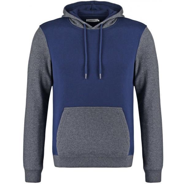 Zalando Essentials Bluza dark blue/dark grey ZA822SA00-K11