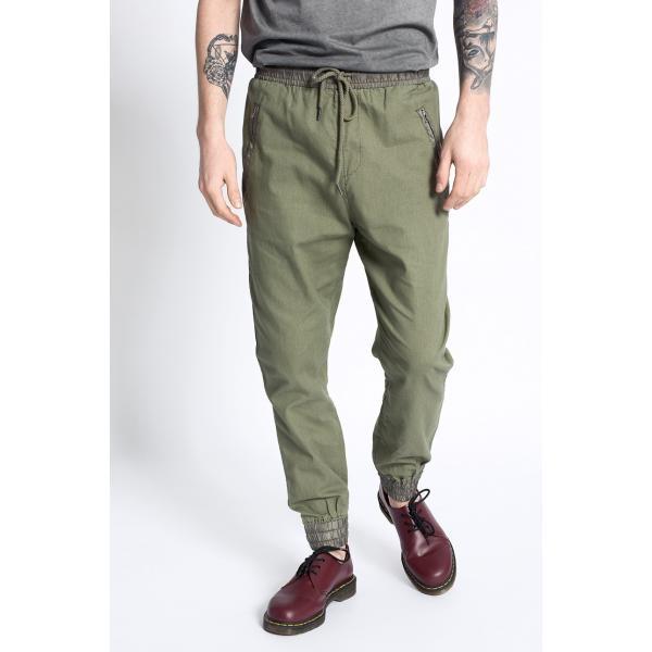 Review Spodnie Linen Jogg 4941-SPM049
