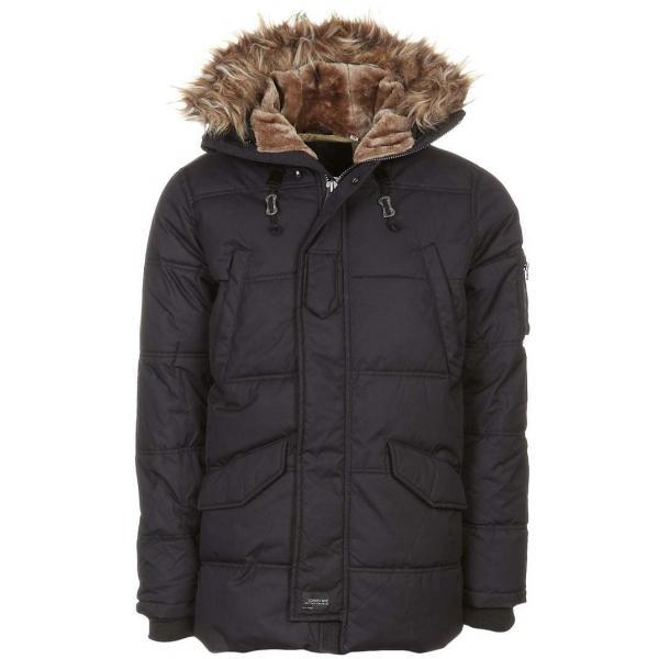 Schott NYC SNORK Płaszcz zimowy black S3722H002-909