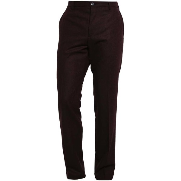 Tommy Hilfiger Tailored Spodnie garniturowe red T1022A01L-G11