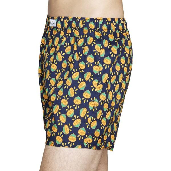 Happy Socks Bokserki Lime 100-BIM155
