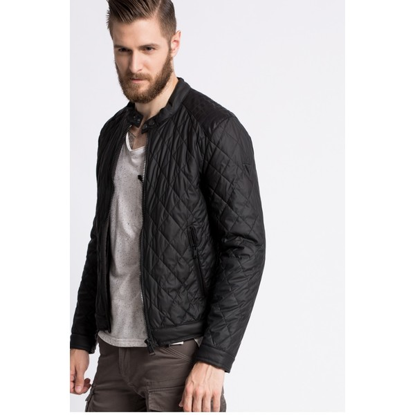 Guess Jeans Kurtka Stretch Leather Touc 4940-KUM045