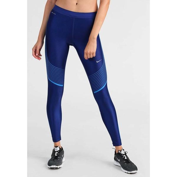 Nike Performance POWER SPEED Legginsy deep royal bluelight