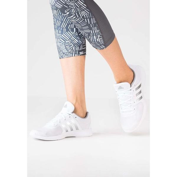 adidas Performance ESSENTIAL FUN 2 Obuwie treningowe white