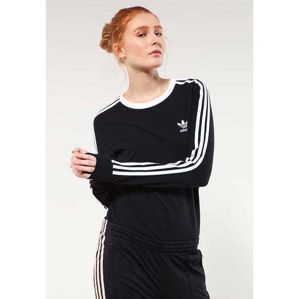 adidas Originals Bluzka z długim rękawem black AD121D0F0