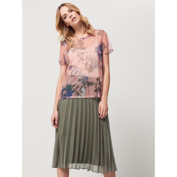 Mohito Plisowana spódnica z połyskiem AFTER HOURS QV511 87X