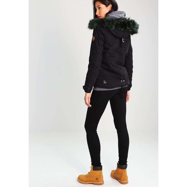 khujo ophelia kurtka zimowa black