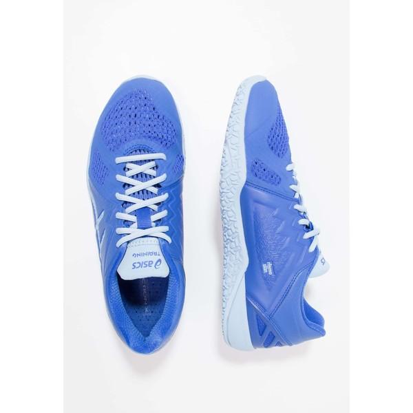 adidas Performance ALEKI X Obuwie treningowe core blackbliss coralintense blue