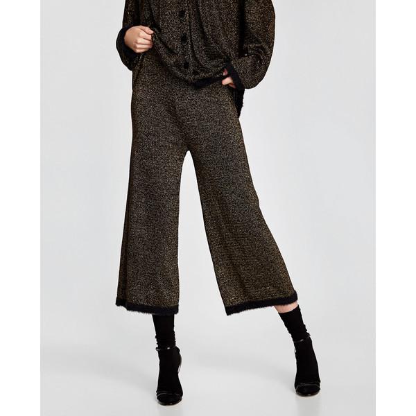 spodnie luźne z krępy zara