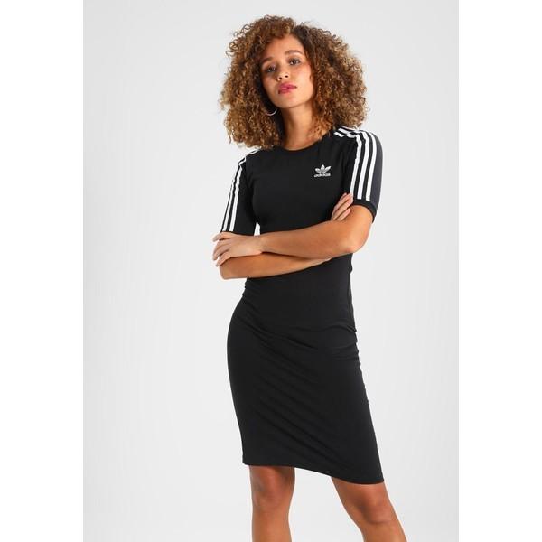 adidas Originals 3 STRIPES DRESS Sukienka etui black