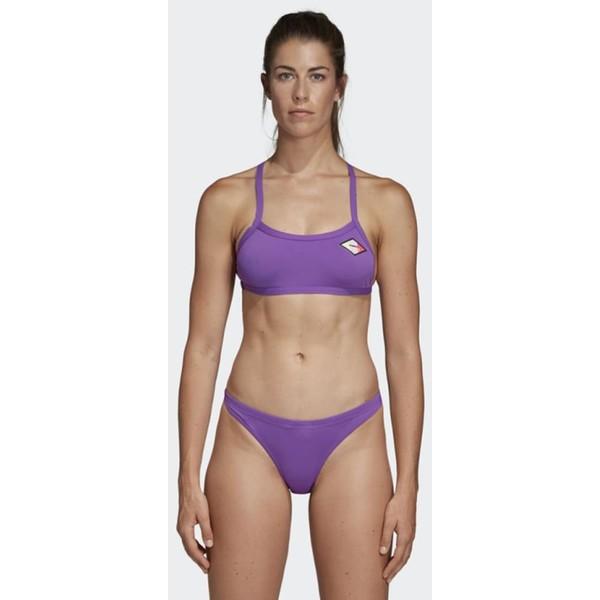 adidas Performance PRO SOLID BIKINI TOP Góra od bikini purple AD581J00G