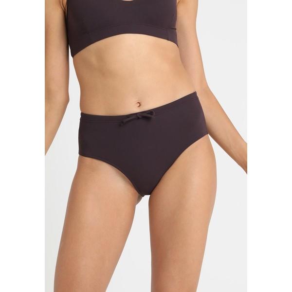 Filippa K HIGH WAIST BIKINI BOTTOM Dół od bikini dark purple F1481I008