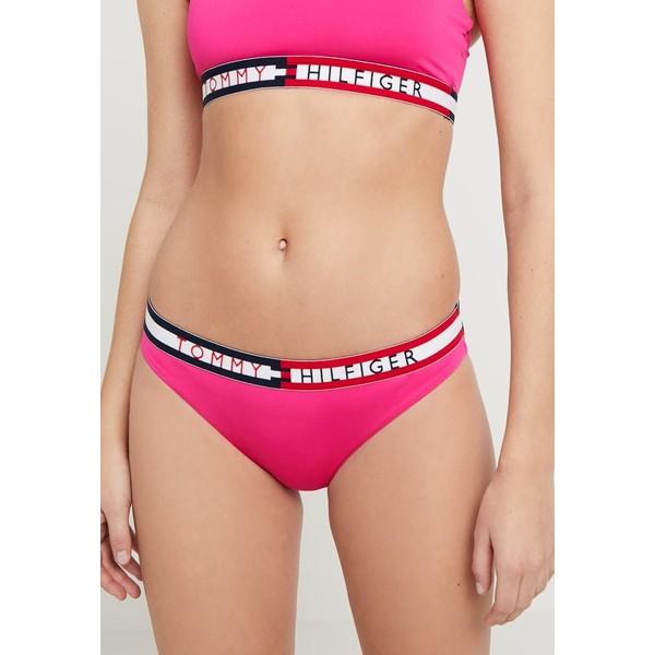 Tommy Hilfiger LOGO Dół od bikini fuchsia purple TO181I01H