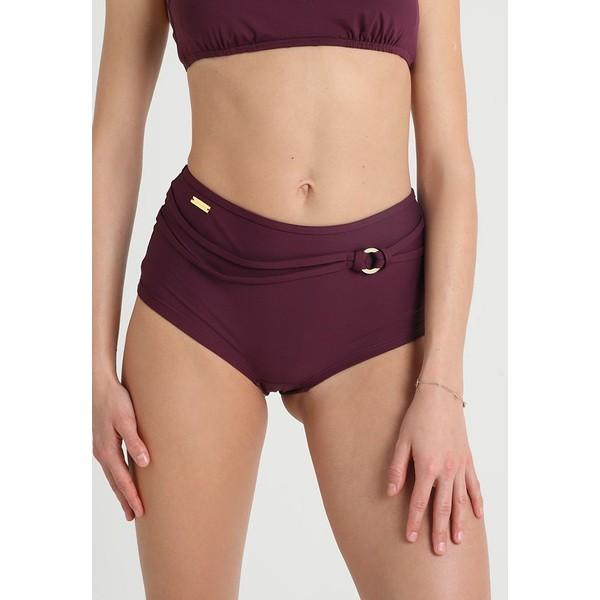 LASCANA HOTPANTS RING Dół od bikini bordeaux L8381I01E