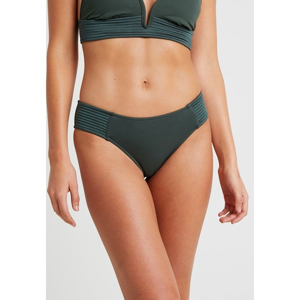Seafolly QUILTED RETRO PANT Dół od bikini forest green S1981I02J